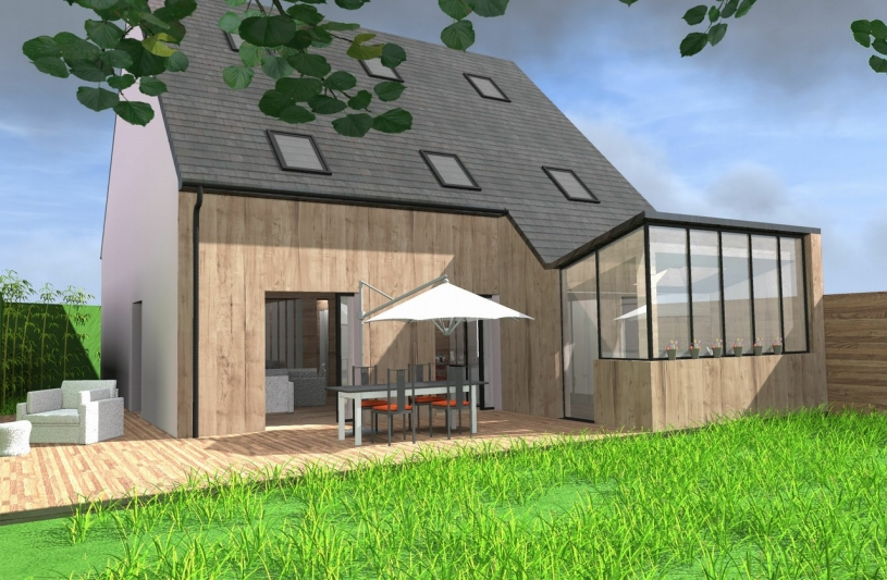 Andriamady fanja architecte ordre des architectes for Architecte maison individuelle