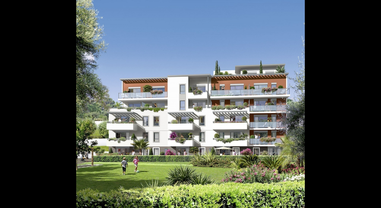 VILLA JARDIN | BRUNO FOCHEUX, architecte ENSAIS | CAGNES SUR MER ...