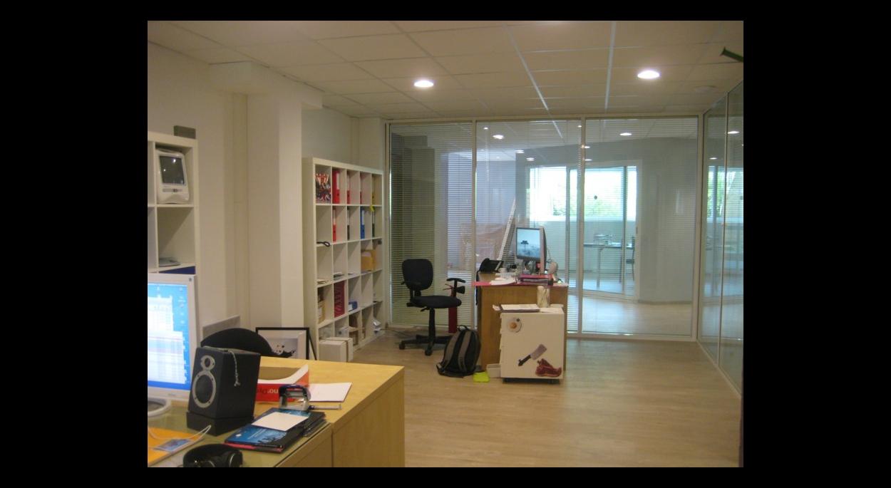 L'un des bureaux après travaux
