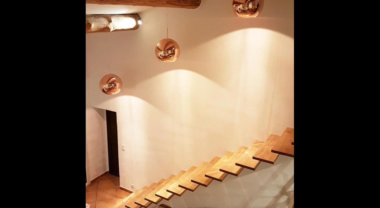 Changement de l'escalier