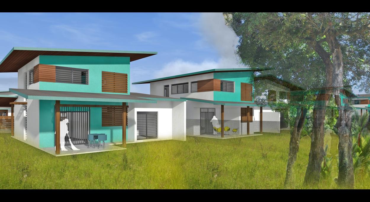Perspective des logements