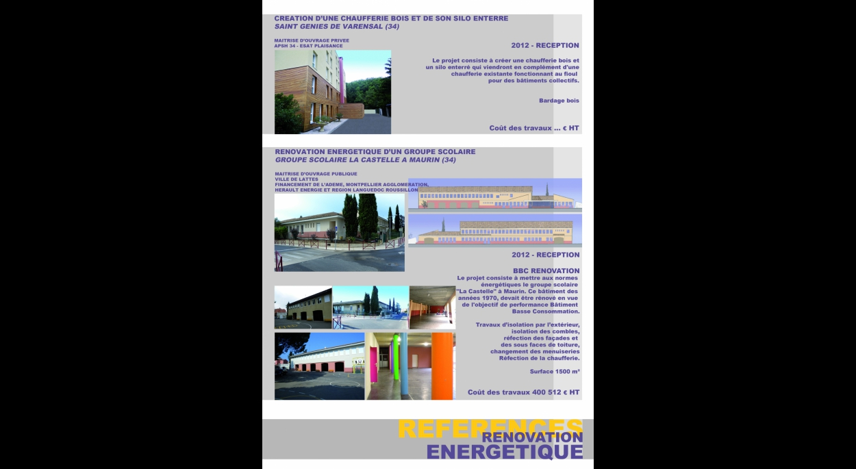 RENOVATION ENERGETIQUE
