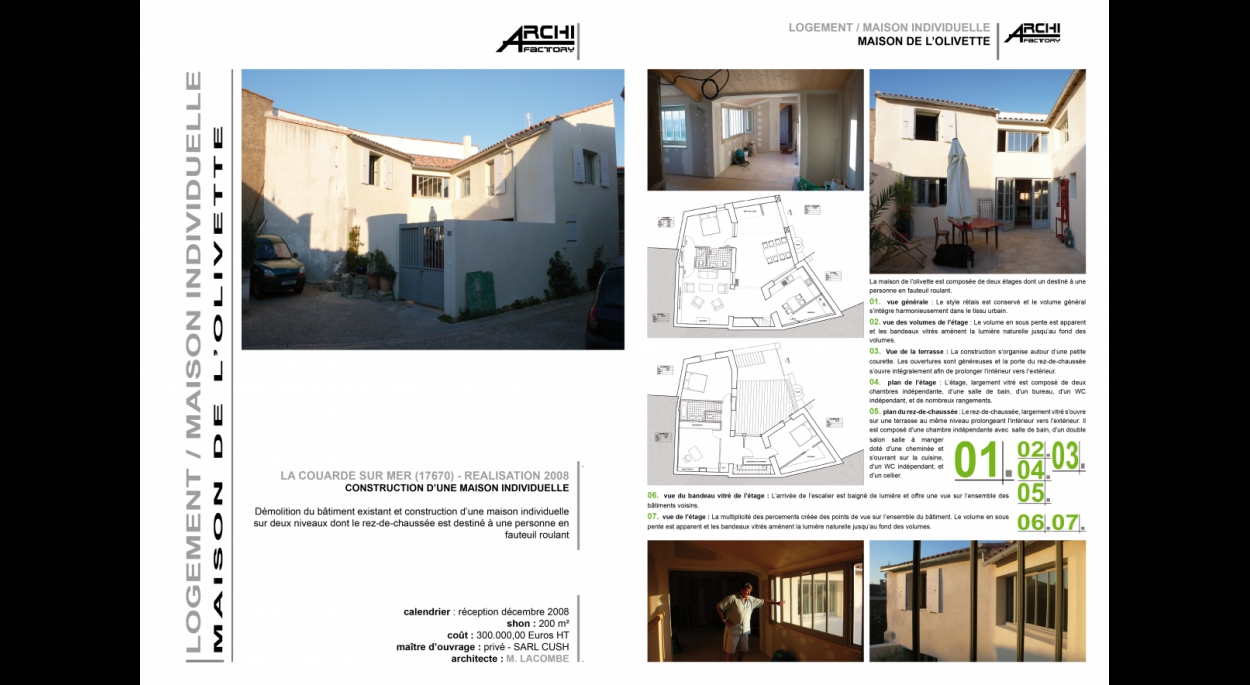 ARCHIFACTORY architectes - Maison de l'Olivette