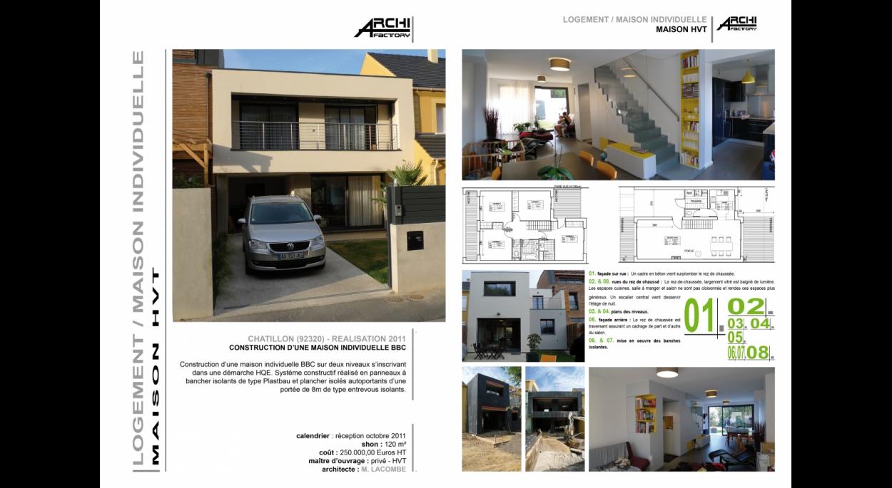 ARCHIFACTORY architectes - Maison HVT