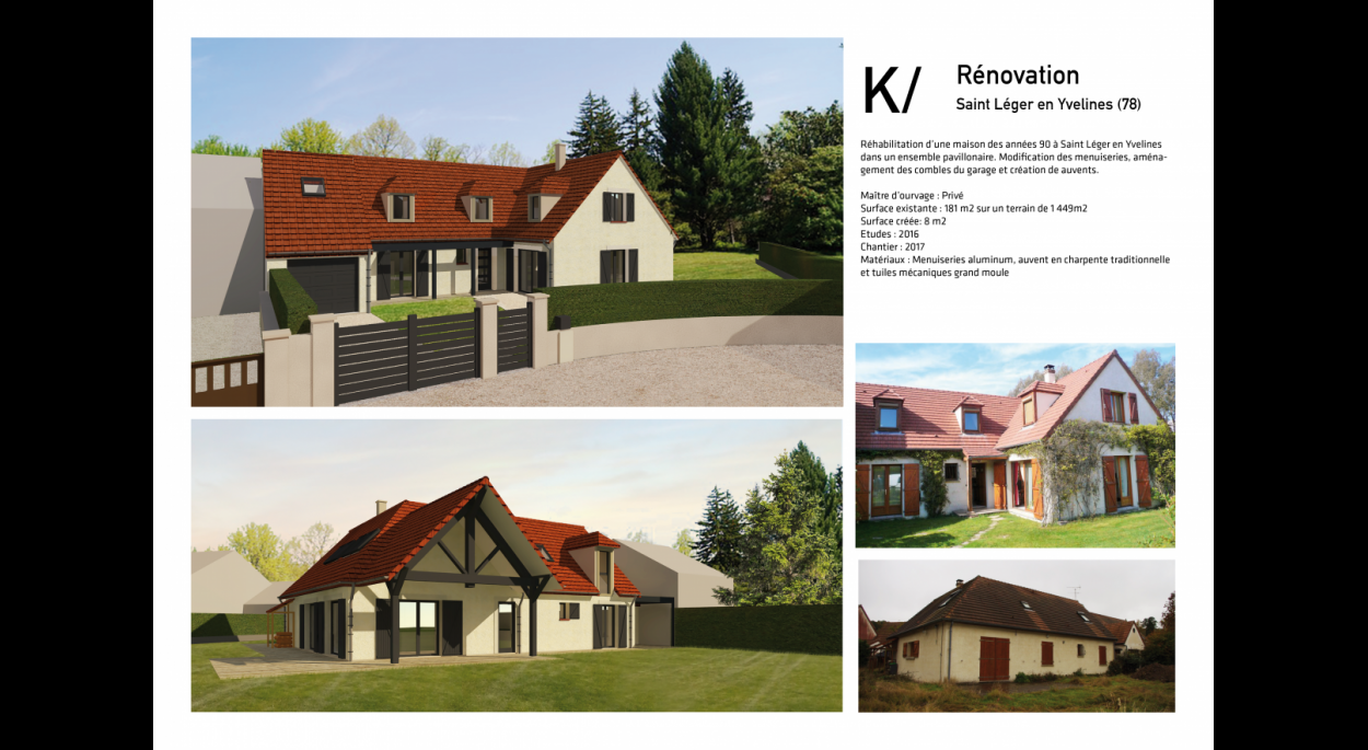 K / Rénovation