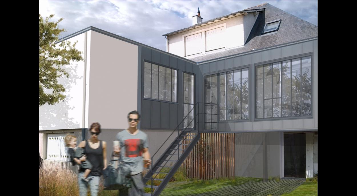 Extension d'une maison existante à Anger (Maine et Loire) 49