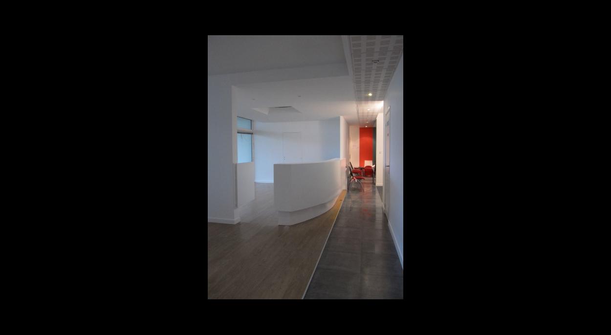Nathalie Brulé architecte - la rochelle - réhabilitation d'un cabinet médical à Aytré