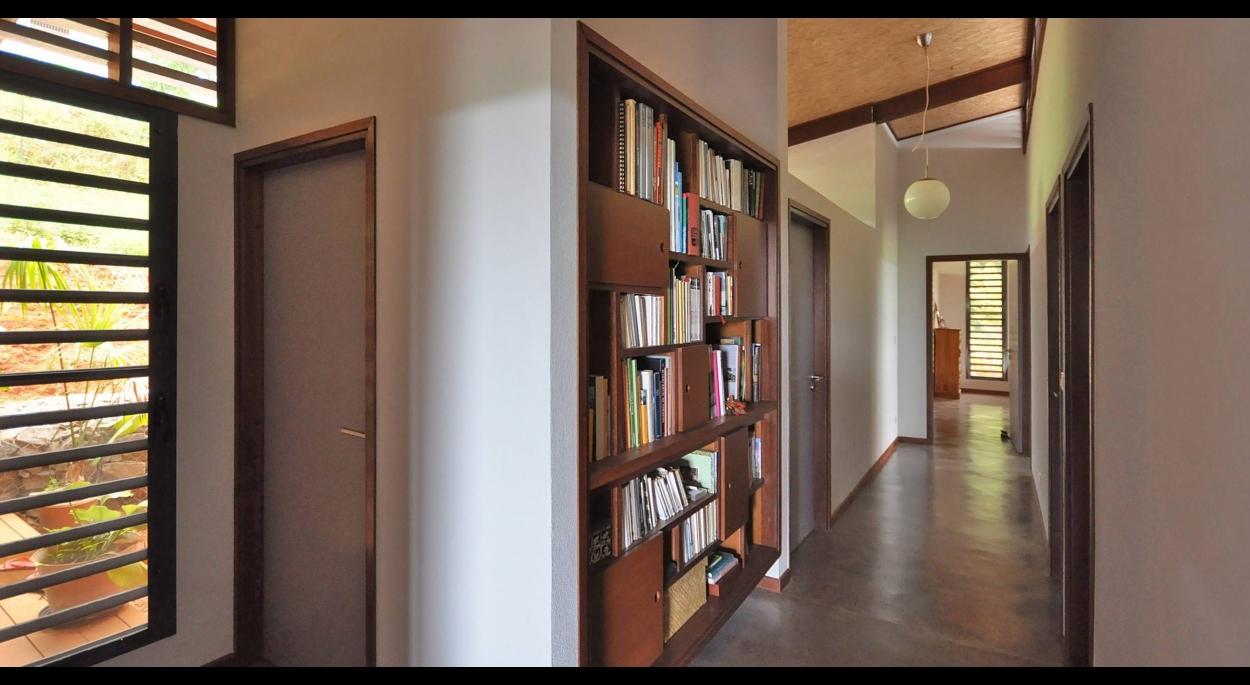 Circulation intérieure vers les chambres