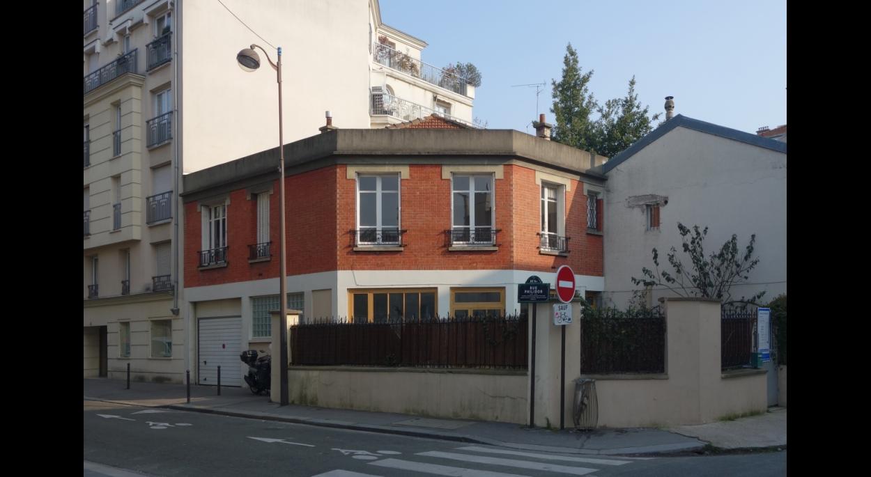 Nouvelle façade sur rue.