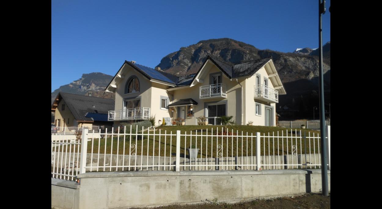 maison à Hermillon (savoie) charpin architecte