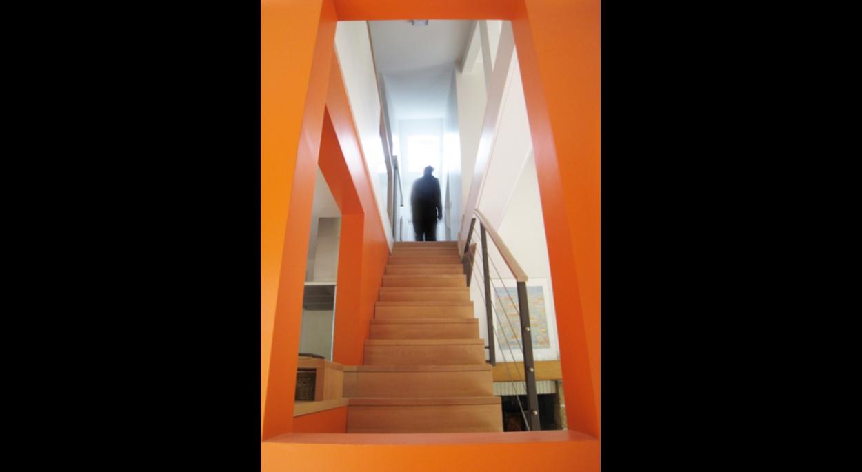 restructuration intérieur montée escalier