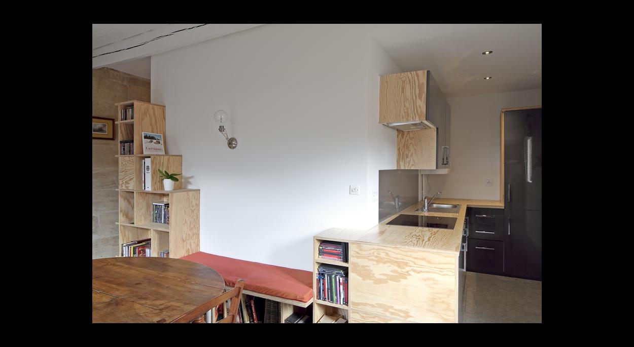 rénovation appartement bordeaux cobra architectes