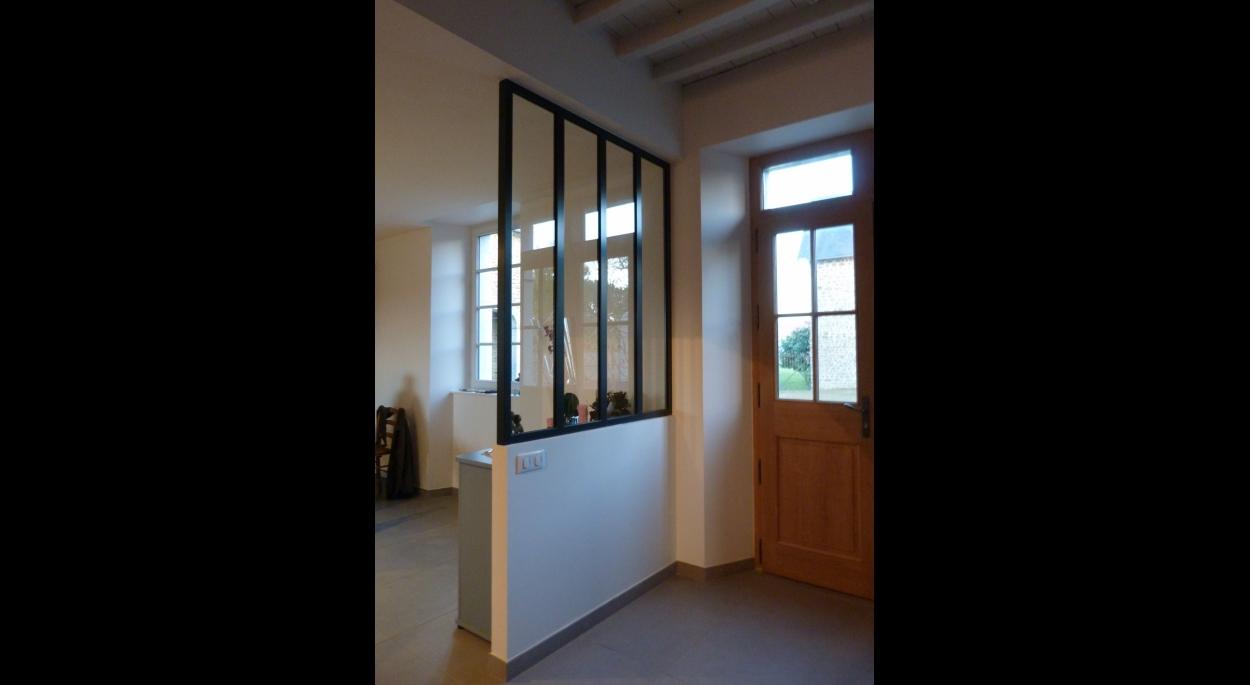 Rénovation intérieure, entrée