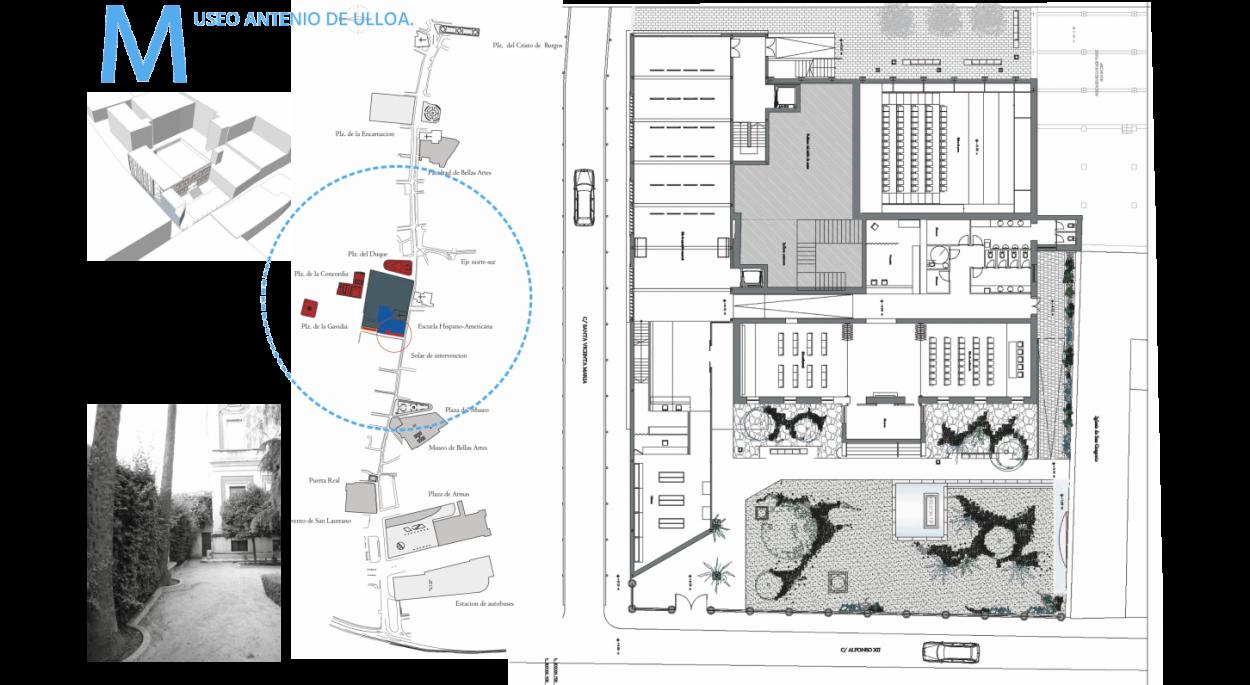 Etat projeté : plan du rez-de-chaussée