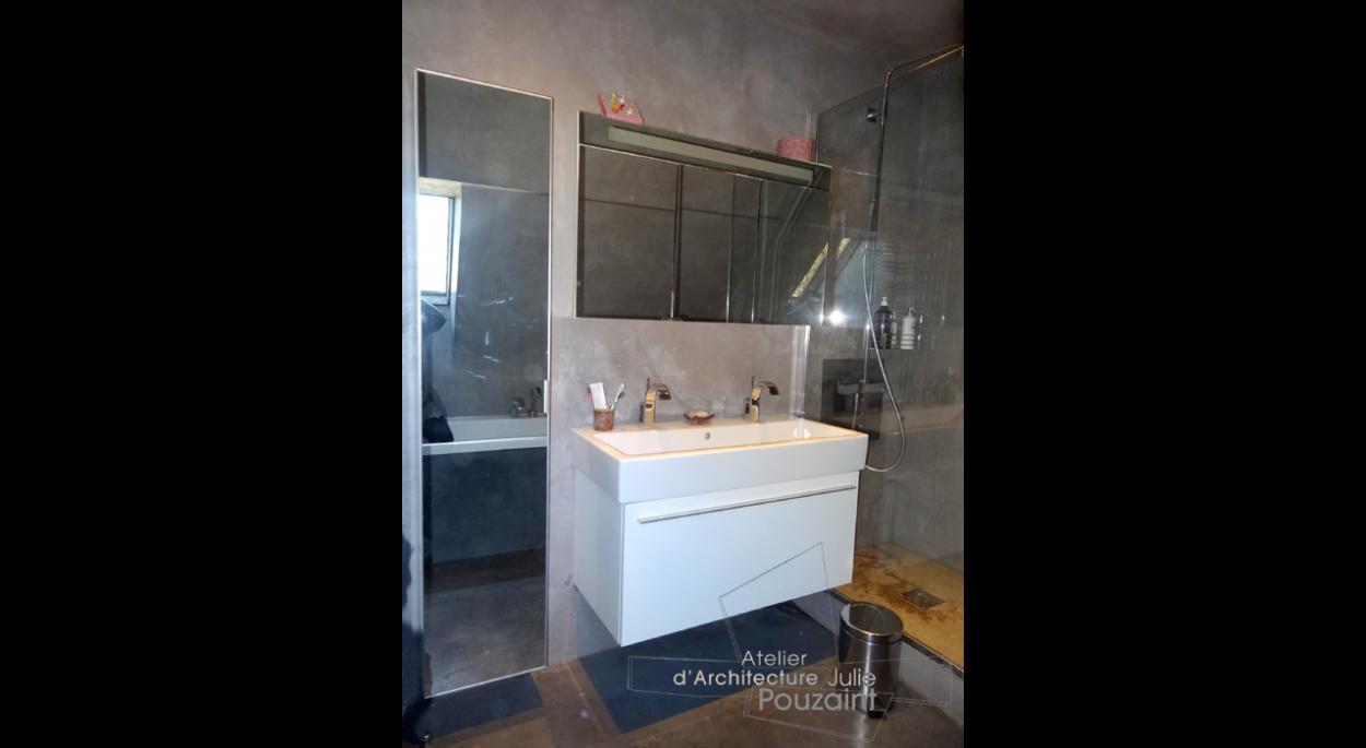 Optimisation de l'espace d'une salle de bain