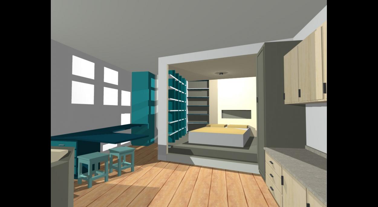 Feng Shui Couleur Salon aménagement feng shui d'un studio | sandra gaultier