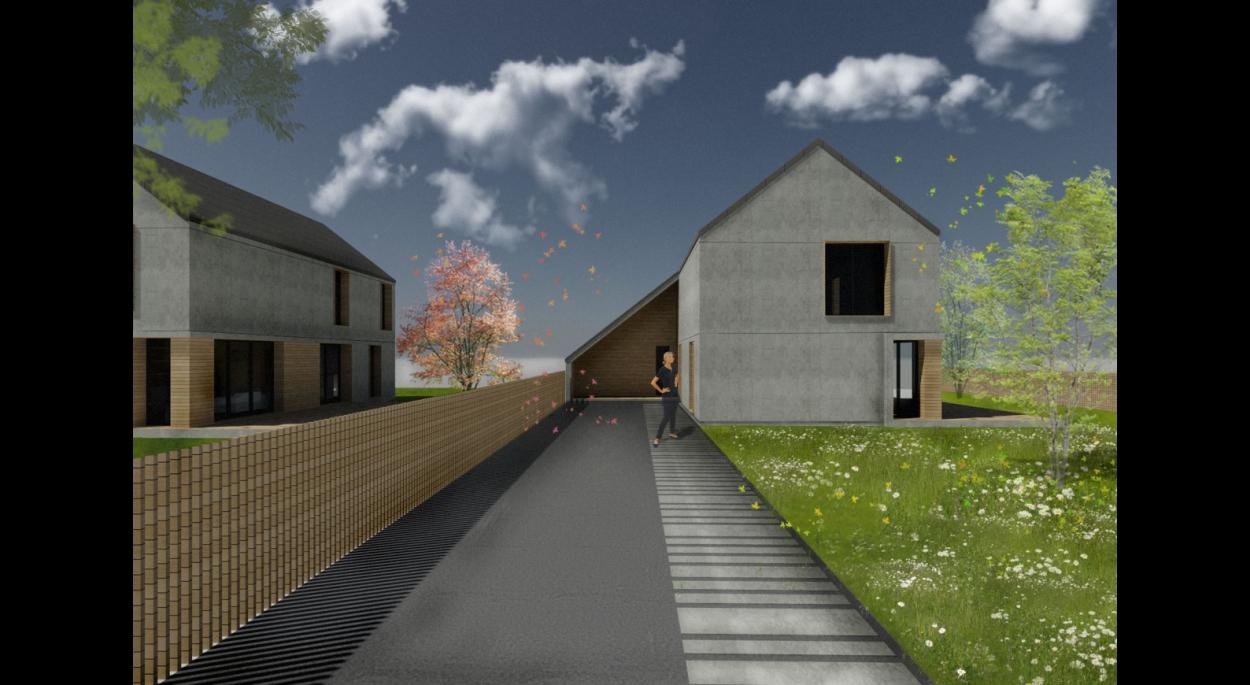 Maisons individuelles béton et bois Valliquerville | EMA | Mont ...