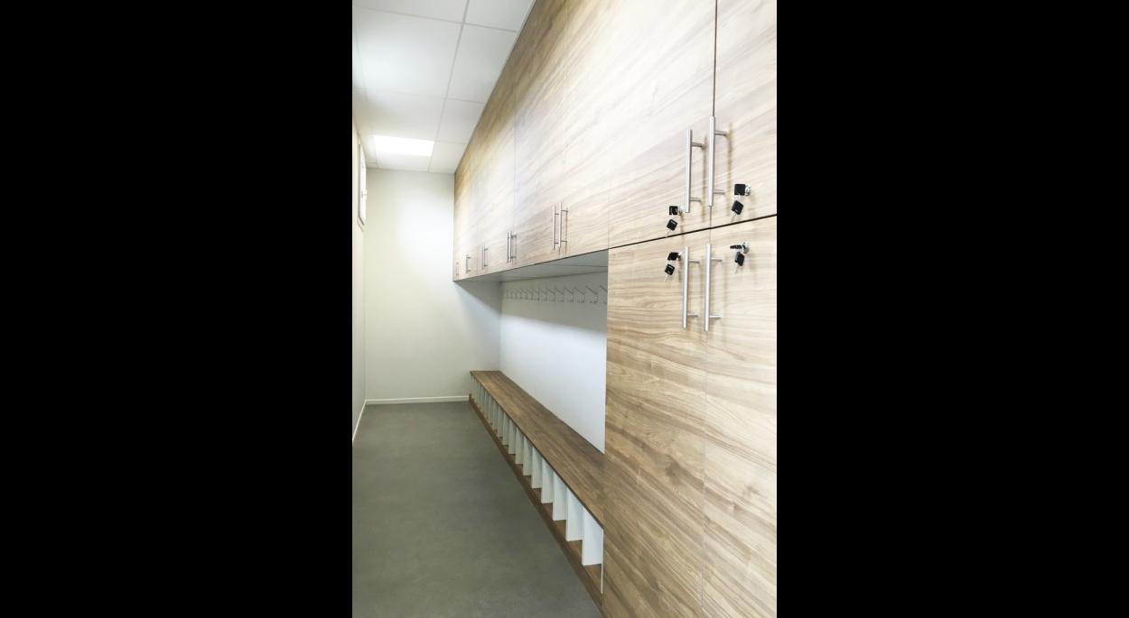 Vestiaire - Salle de danse - Montcuq en Quercy Blanc