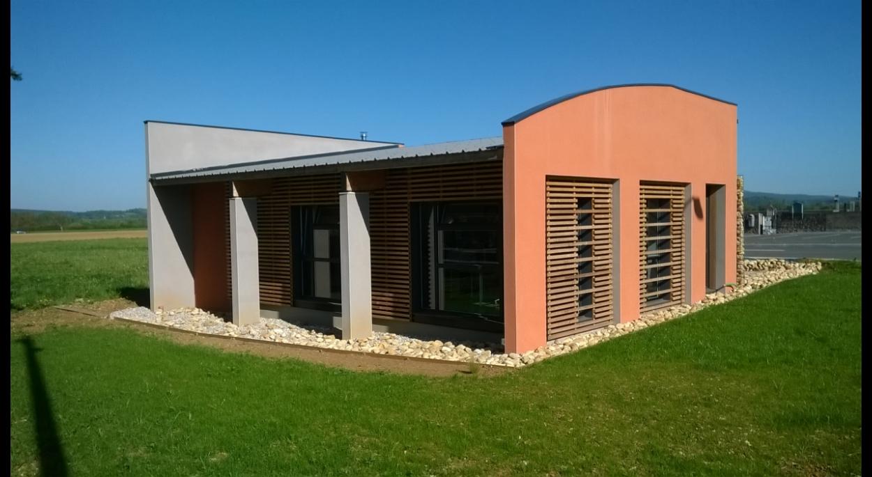 Bâtiment de bureau - agence d'architecture
