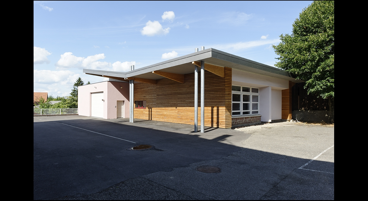 Construction d'un atelier communal à Dahlenheim