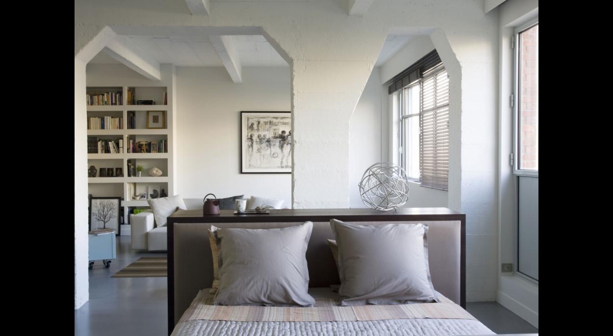 Transformation d'une surface en loft. Alain Potignon photographe. Appartement T / ARCHI-V.O