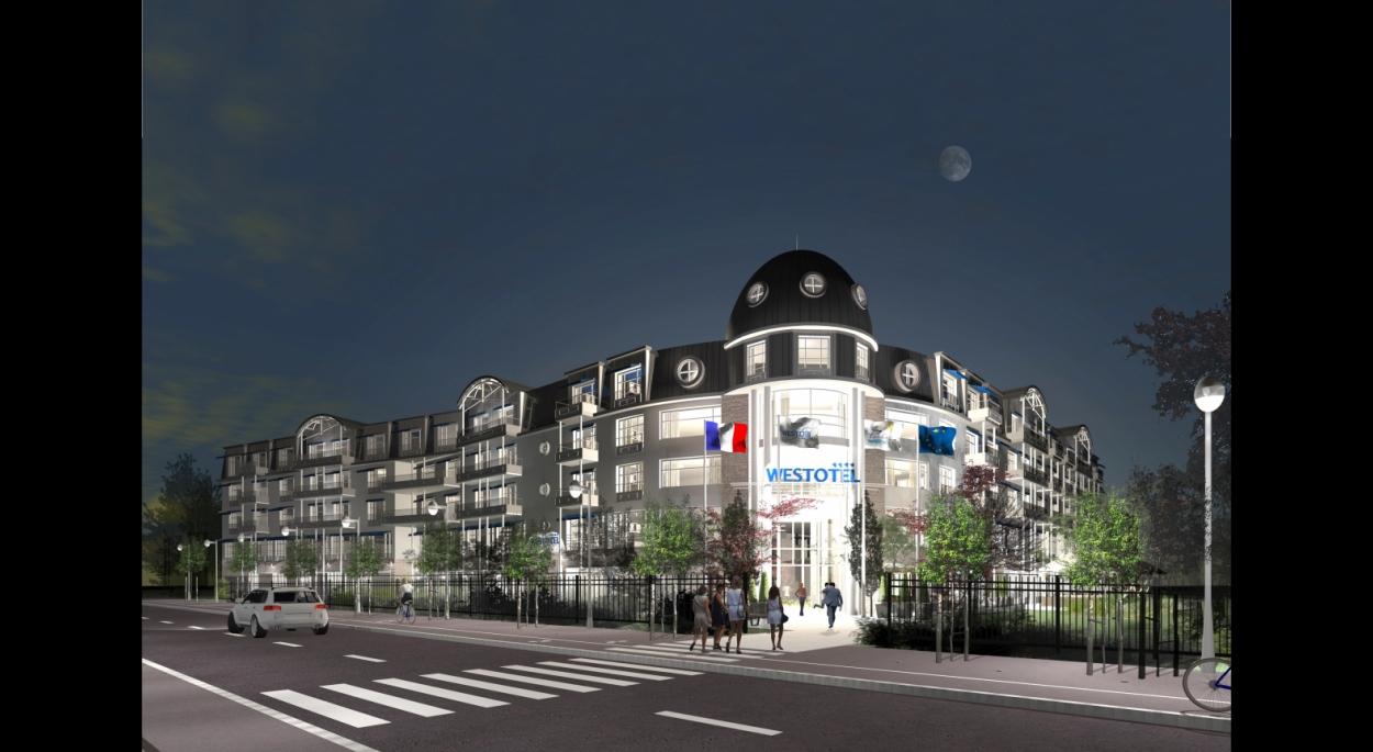 Westotel Hôtel 4*, Le Pouliguen vue nocturne Erdre Architecture