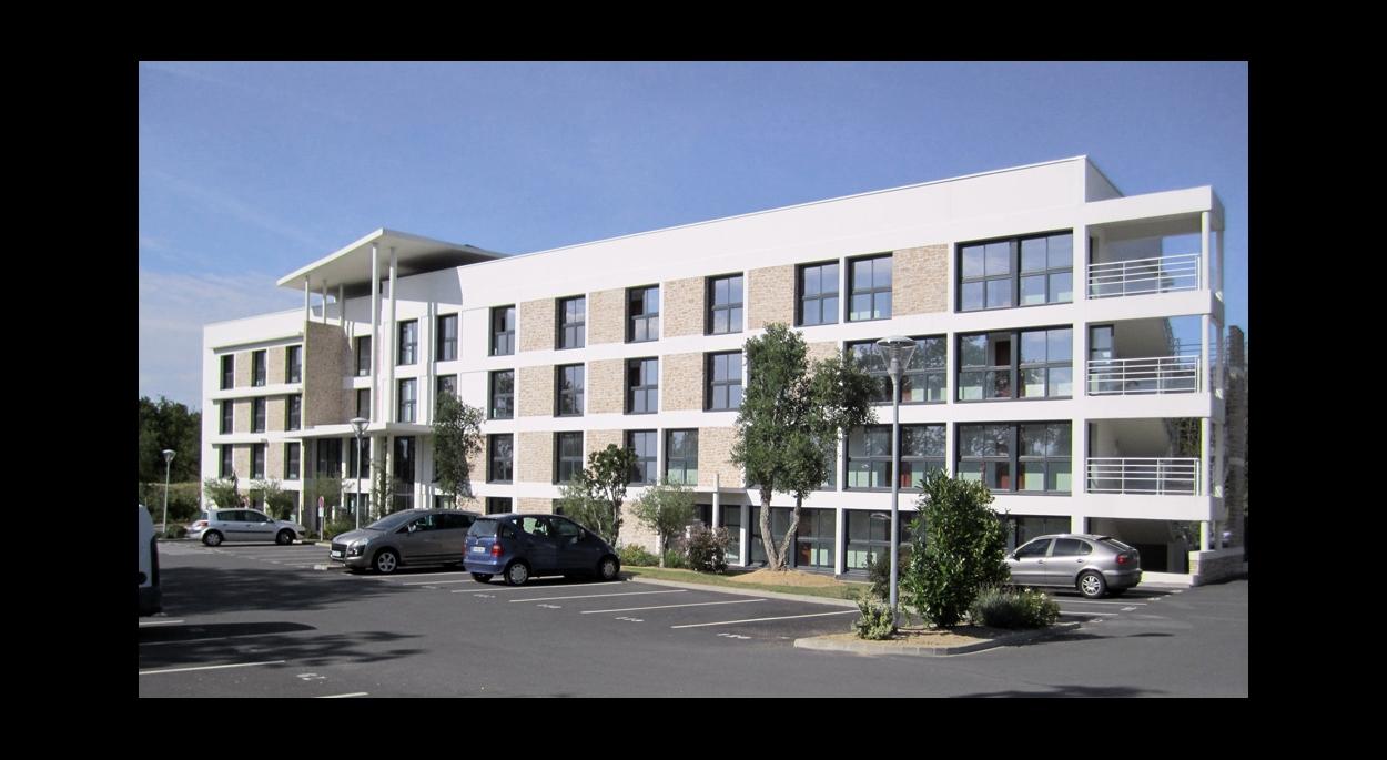 Résidence de Tourisme Maubreuil _ Erdre Architecture _ Nantes _ Carquefou