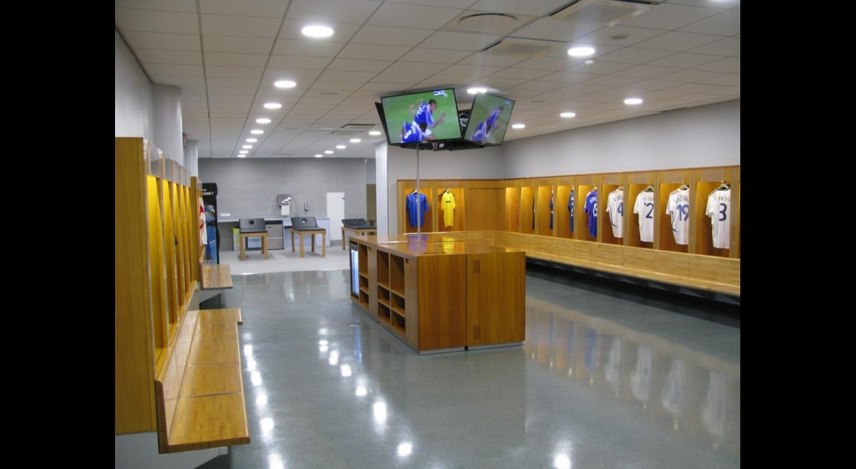 vestiaires joueurs, Stade de France