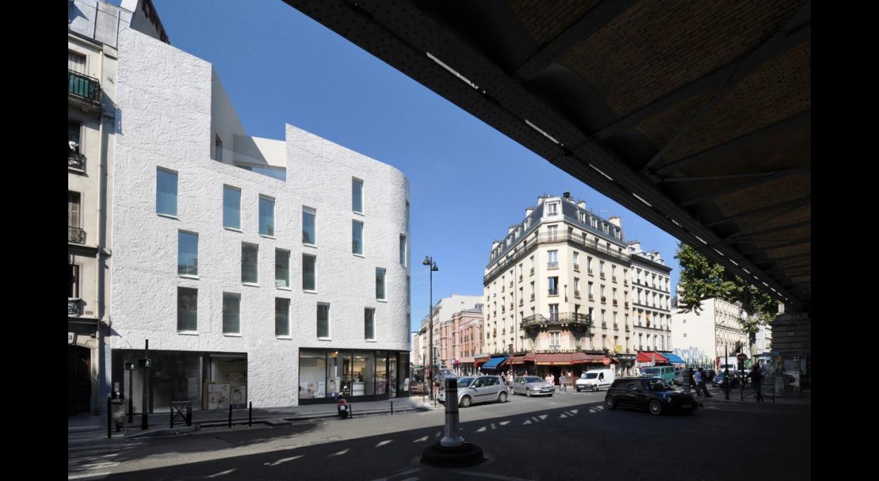 18 logements sociaux - Façade sur boulevard