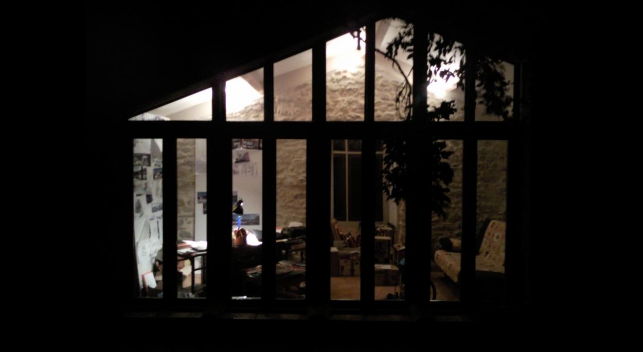 Rénovation Mélodie VIENNOT architecte - Vue de nuit