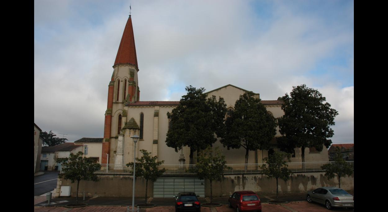 église Saint Pierre, façade sud