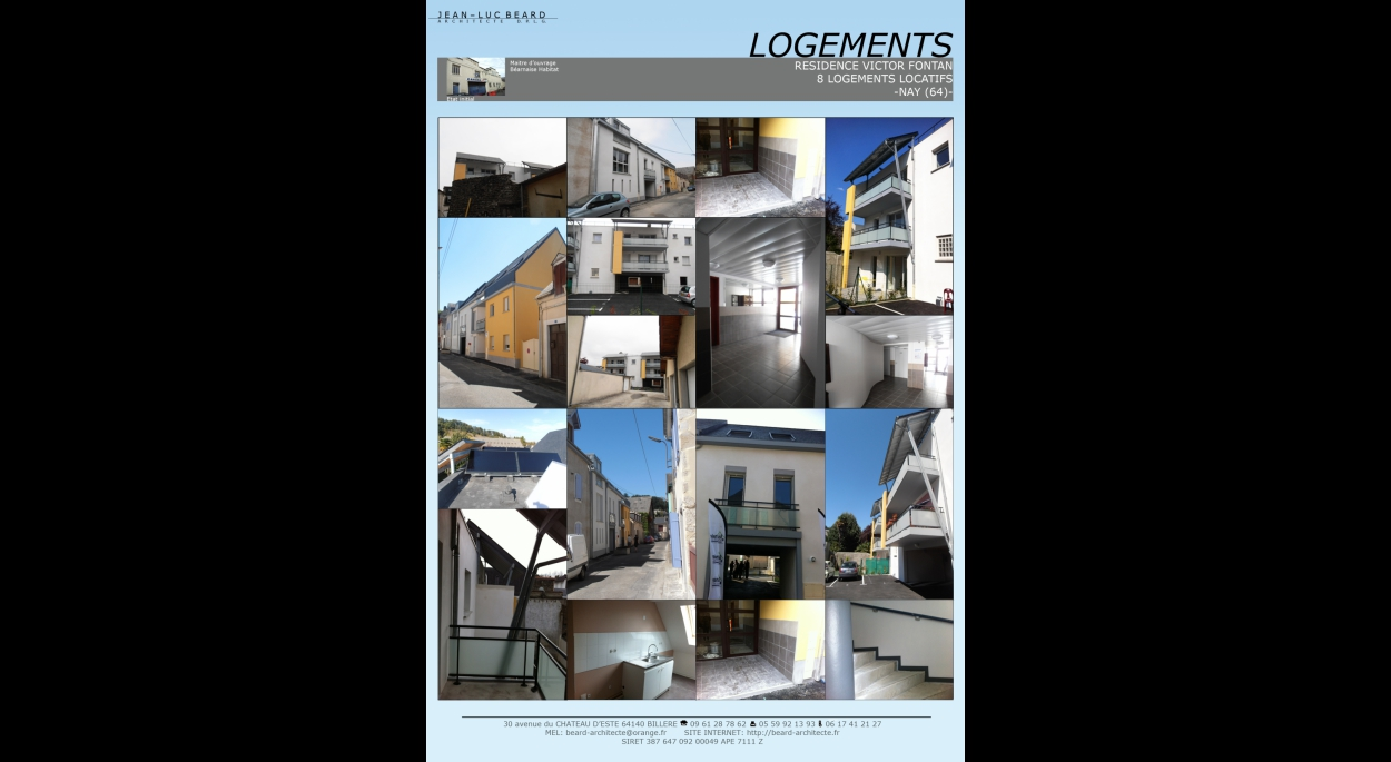CONSTRUCTION DE 8  LOGEMENTS A NAY