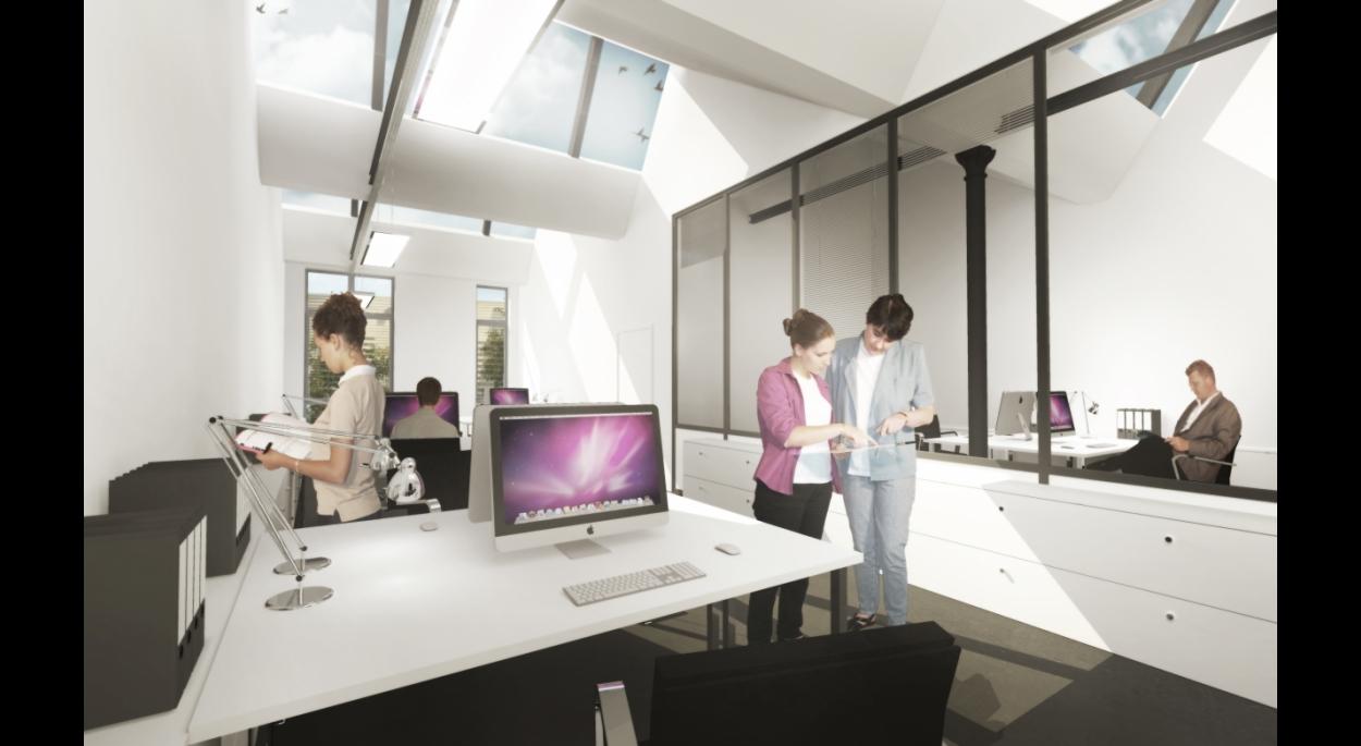 Vue des bureaux