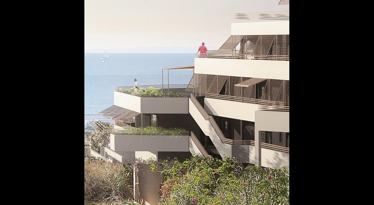 balcon vue mer perciennes