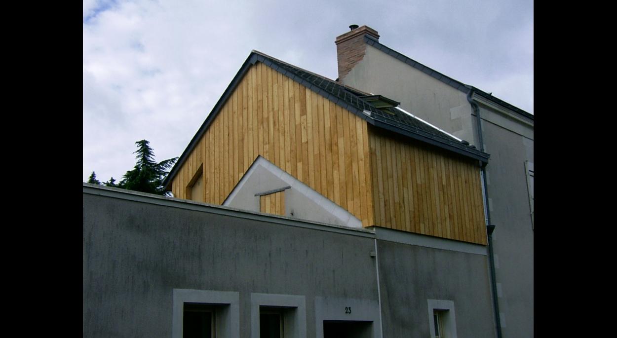 02 - Extension suélévation ossature bois
