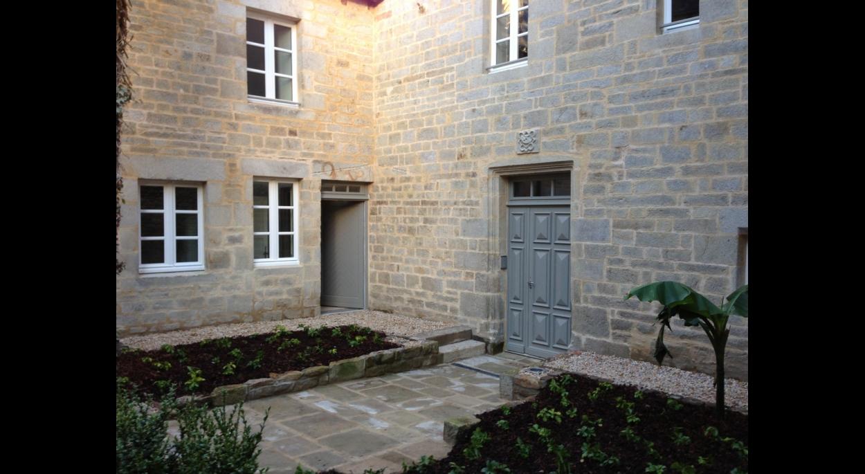 olivier samzun architecte patrimoine, rénovation manoir de la Psalette à QUIMPER