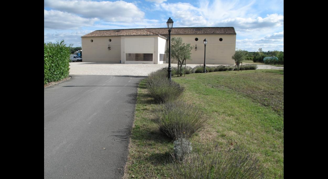 Construction bâtiment vinicole