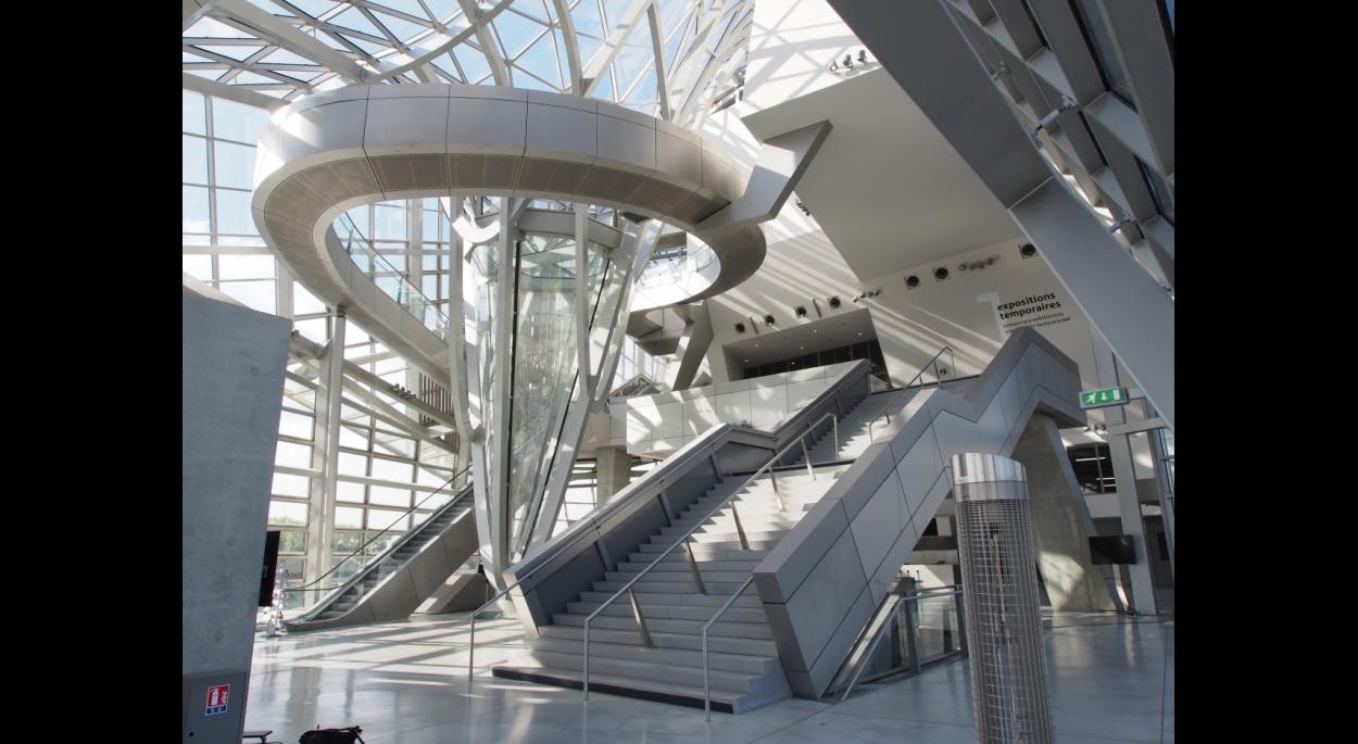 Musee des Confluences - Intérieur Cristal