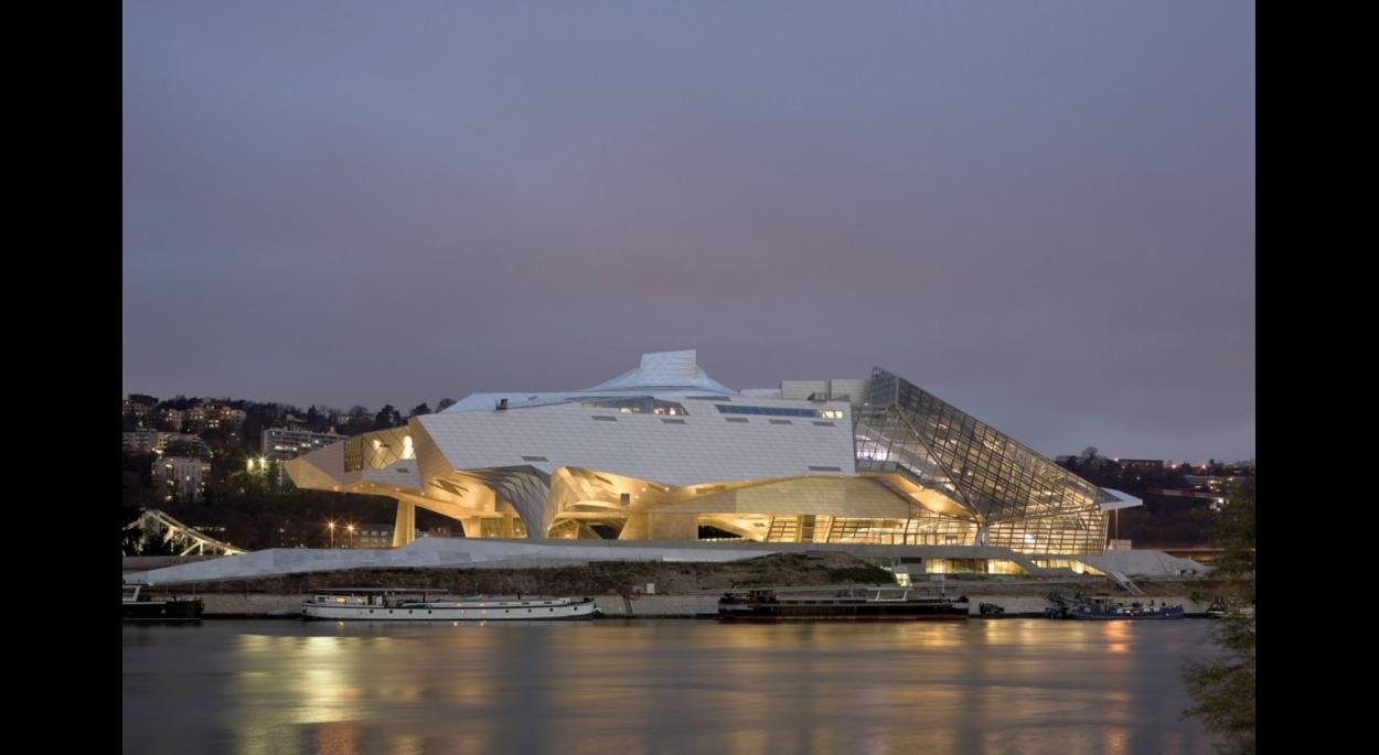 Musée des confluences-Nuit
