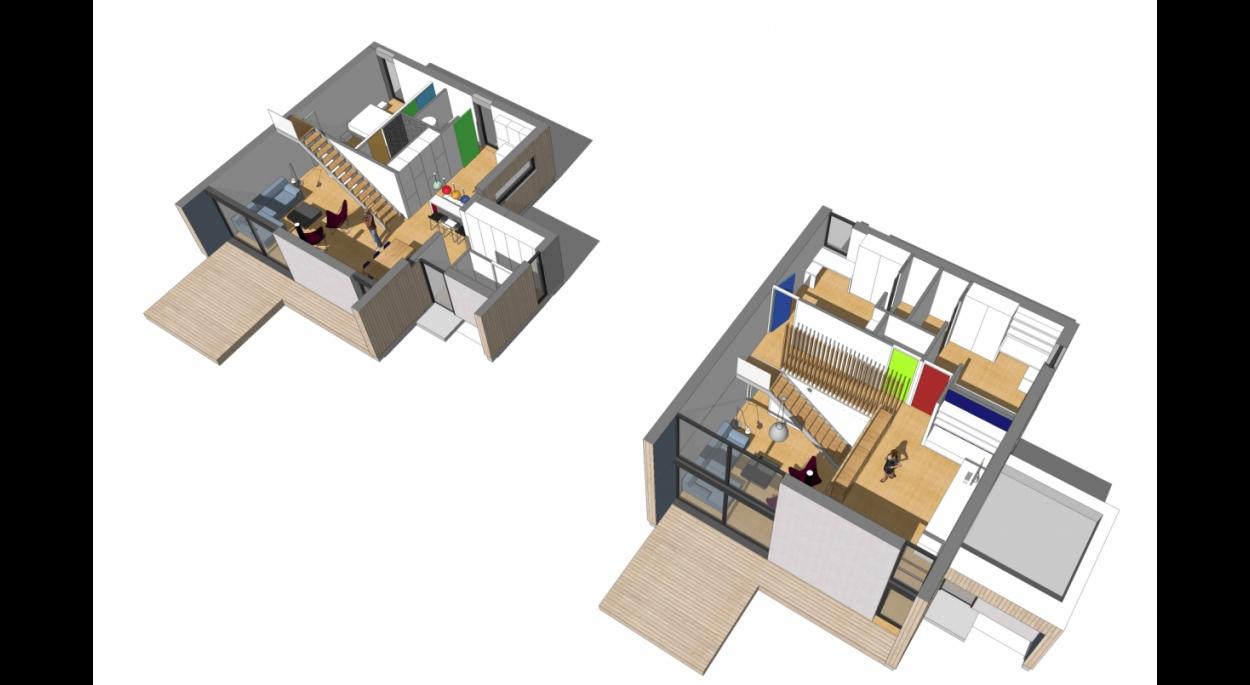 maison passive à Treillières tektolab architectes Nantes ossature bois écologique durable