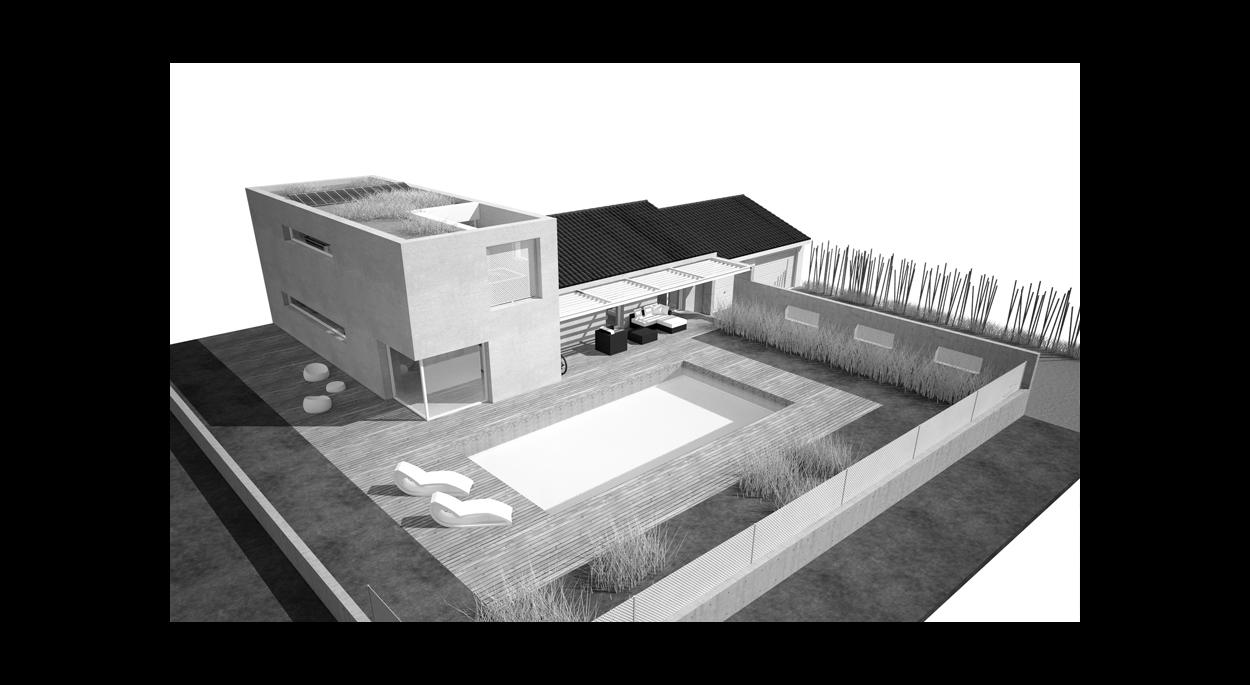 modern house archibulle bourg en bresse ain ordre des architectes. Black Bedroom Furniture Sets. Home Design Ideas