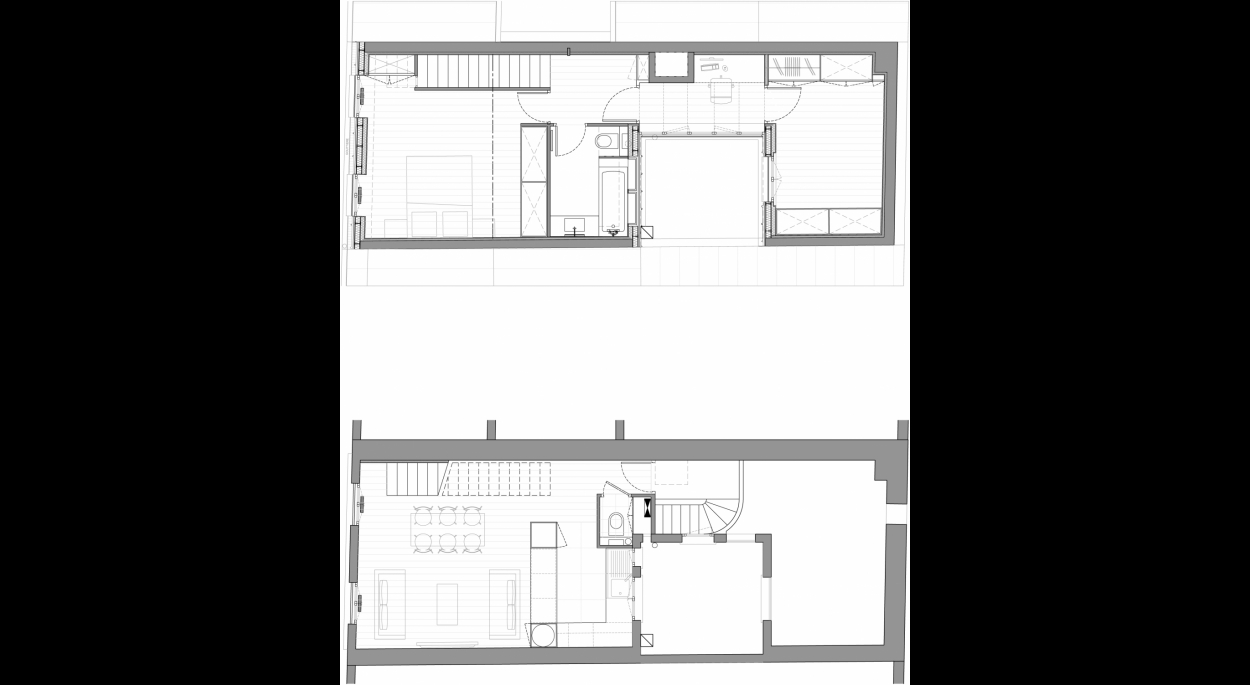 Paris Eiffel_Plans du duplex