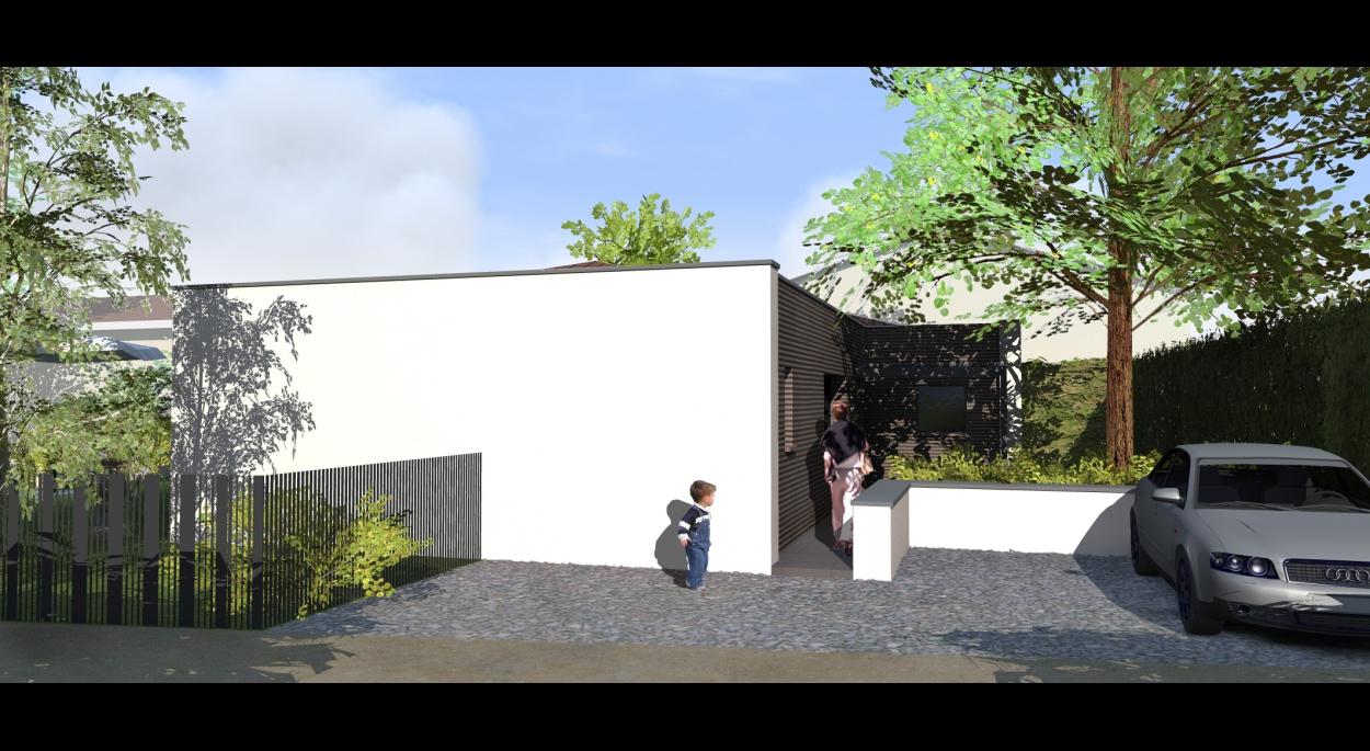 MAISON P | CAROLINE CHAPELLET Architecte | FRANCHEVILLE ...