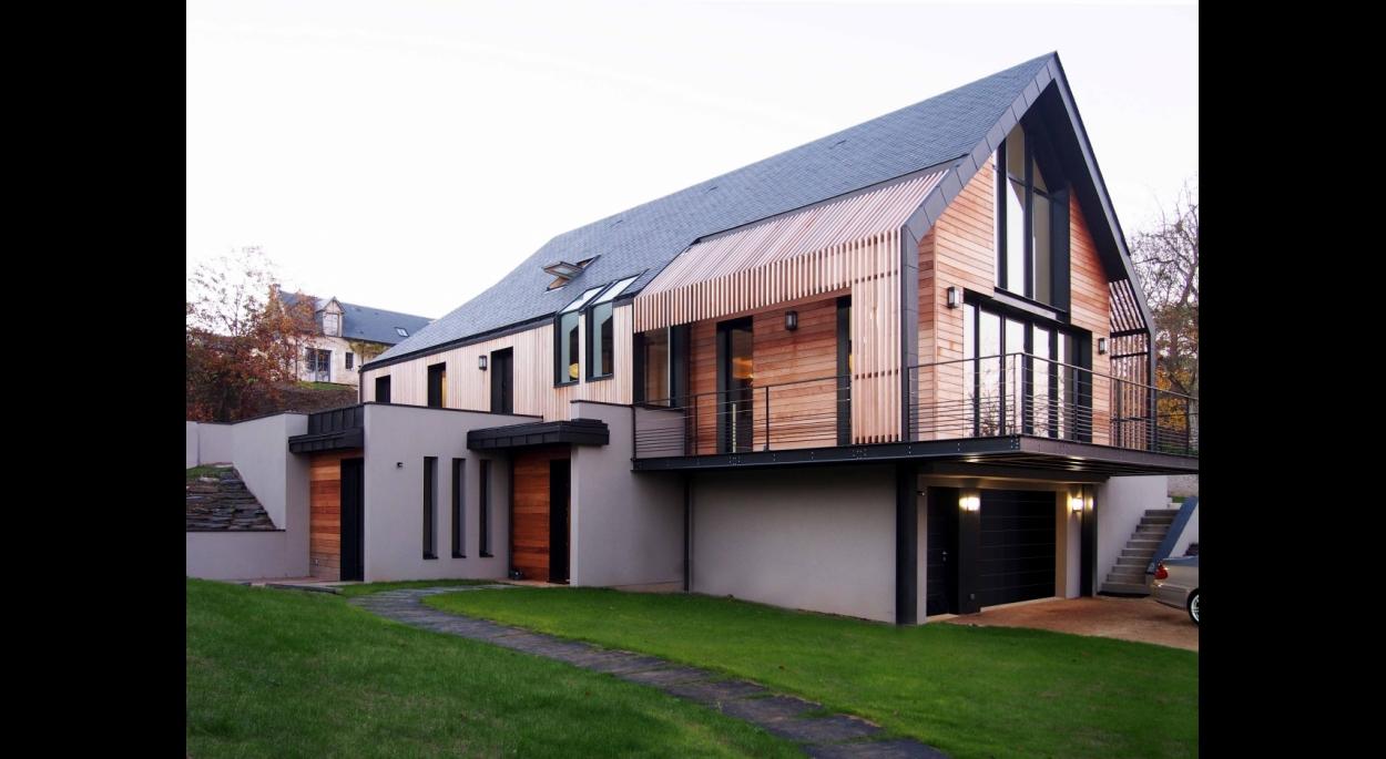 maison sur la loire | catherine leman architecte | angers - maine-et