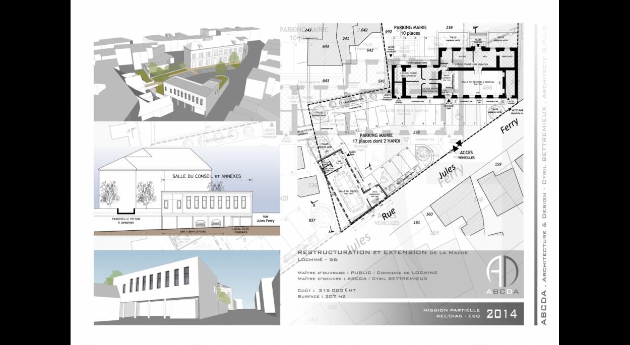 2014 - SALLE DU CONSEIL de la Mairie de Locminé