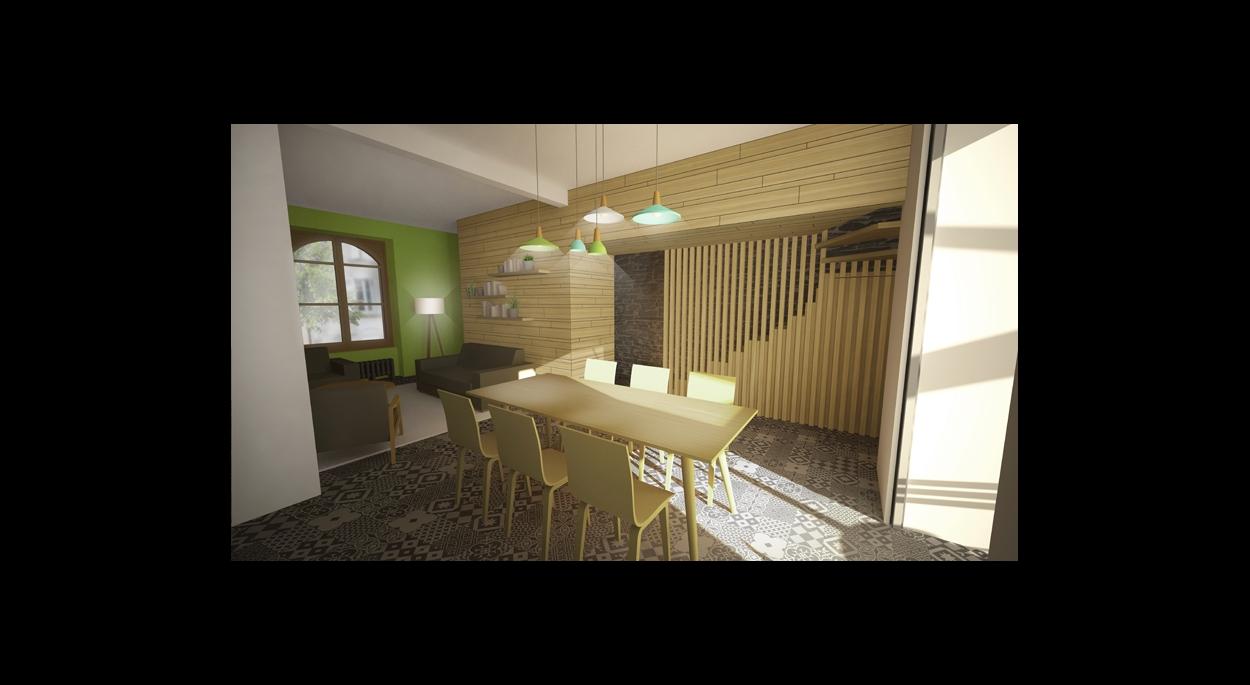 Aménagement intérieur d\'une maison de ville à Angers (49) | ATELIER ...