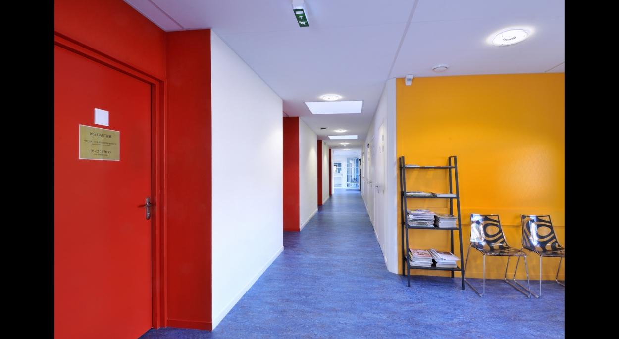 Maison de santé Malicorne - RO.ME Architectes - Photographe C.Petiteau