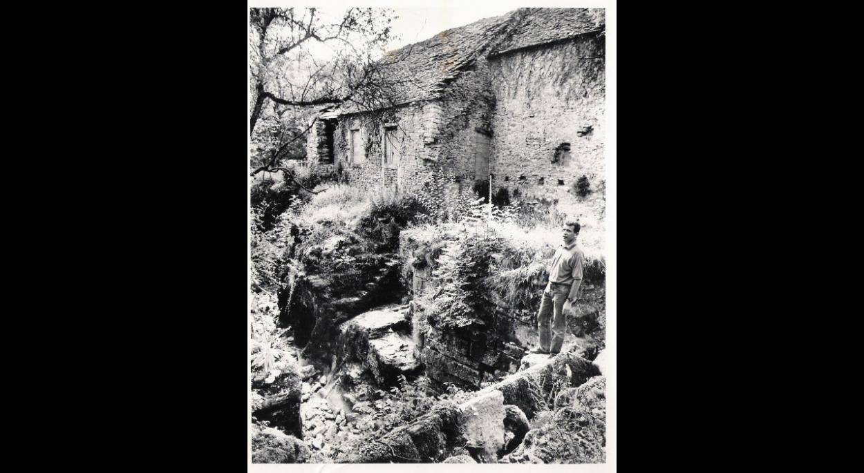 Etat initial du moulin Grillet