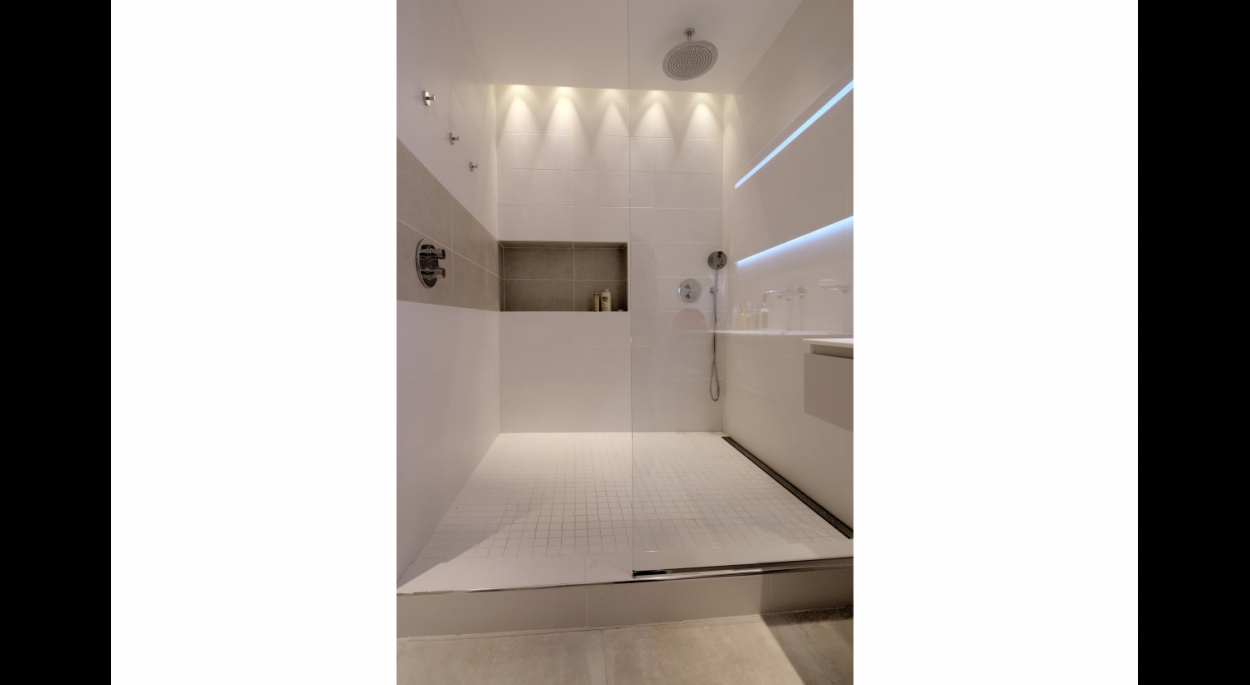 Restructuration et agencement d'un appartement et cabinet de consultation de 105m² - Salle d'eau