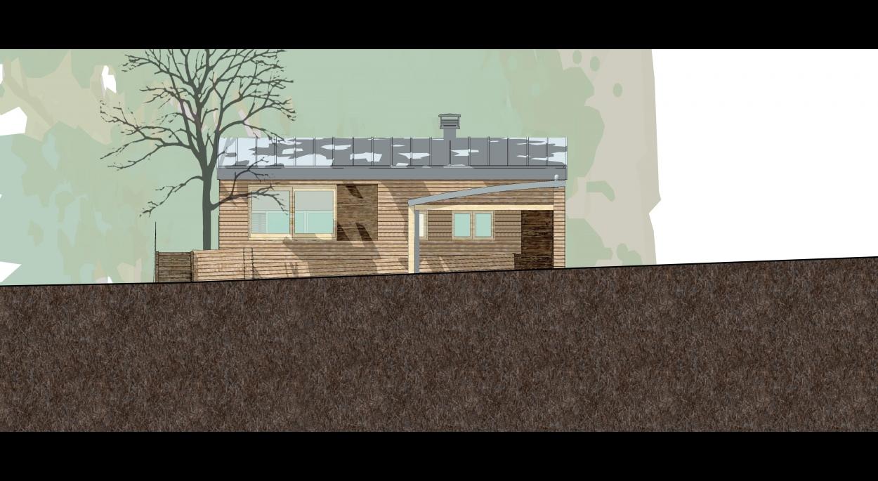 Dirim Architecture / PHM Bois / façade est - Jean-Christophe Sans